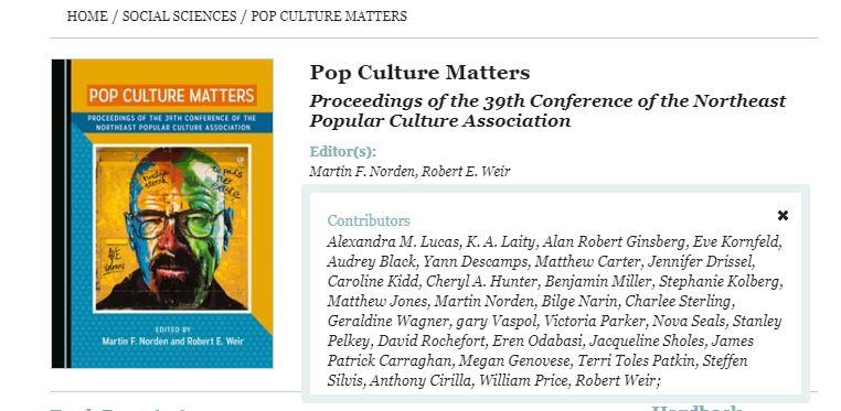 Popculture book
